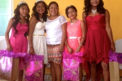15th birthday girls with Gilma